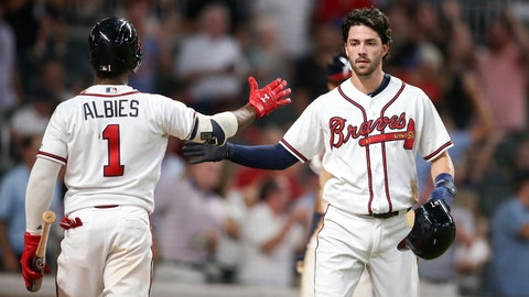 3. Middle of Braves infield riding very different waves since All-Star break