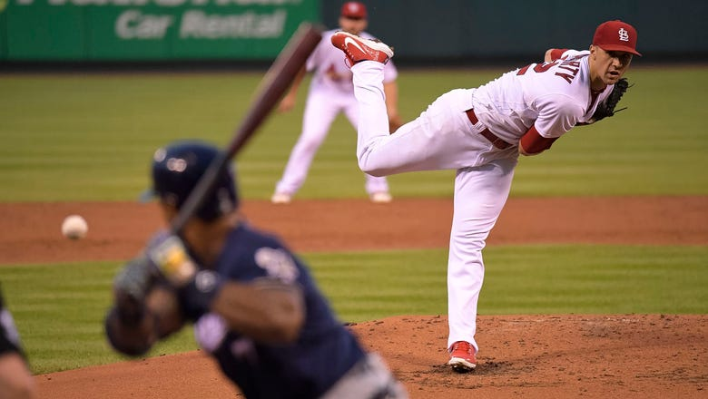 Flaherty throws six shutout frames in Cardinals' 5-2 win over Brewers