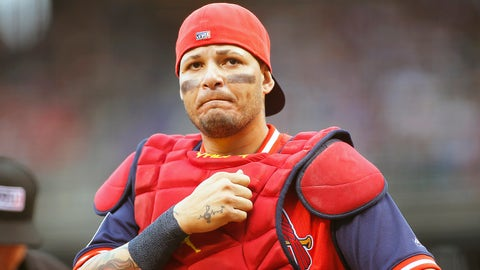 Roberto Clemente Award Goes to St. Louis Catcher Yadier Molina