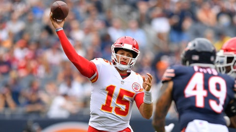 Kansas City - Patrick Mahomes II - 22 - 9/17/1995