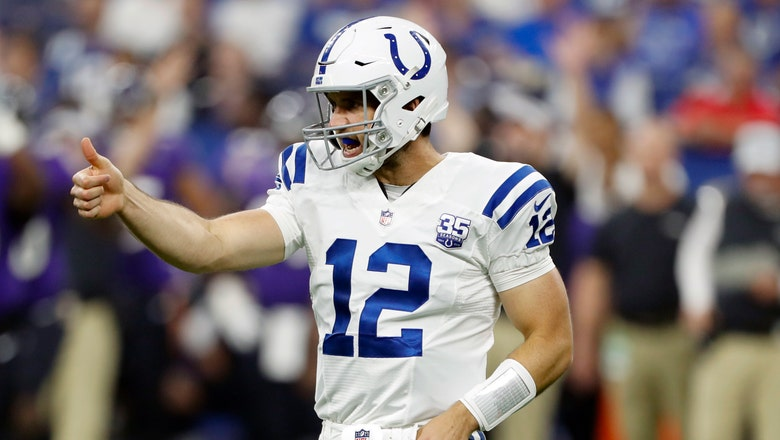 Colts fall short of comeback as Luck struggles in long-awaited return home