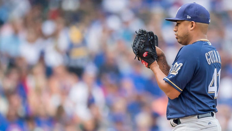 Guerra struggles, Brewers can't catch up in loss to Cubs