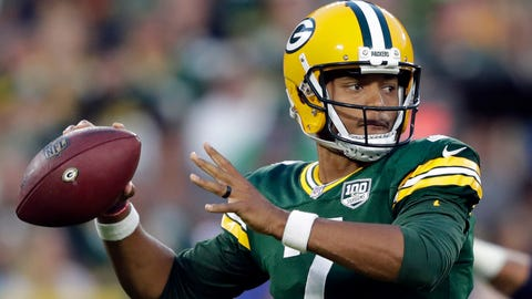 Aug. 29: Traded quarterback Brett Hundley to Seattle for 2019 sixth-round draft pick.