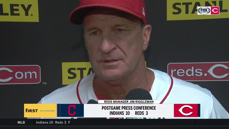 Jim Riggleman identifies missed opportunities, turning points in Reds' loss to Tribe
