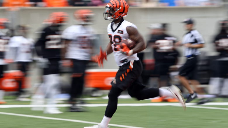 Former Sooner Mixon loses weight, aims for bigger role as Bengals' back
