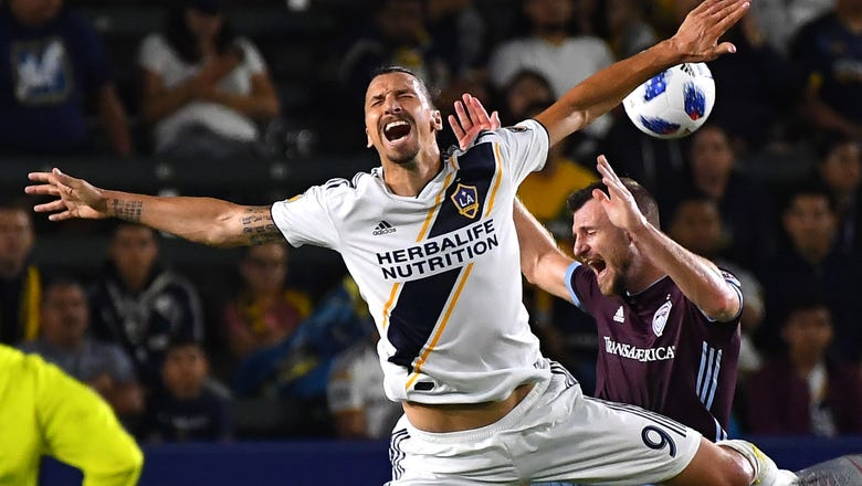 Crazy second half earns Galaxy a draw against struggling Rapids