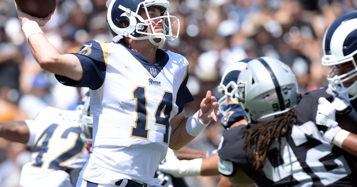 Rams Raiders Both Rest Starters In Coliseum Preseason