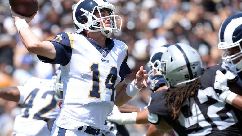 Rams, Raiders both rest starters in Coliseum preseason debut