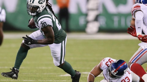 ISAIAH CROWELL, New York Jets