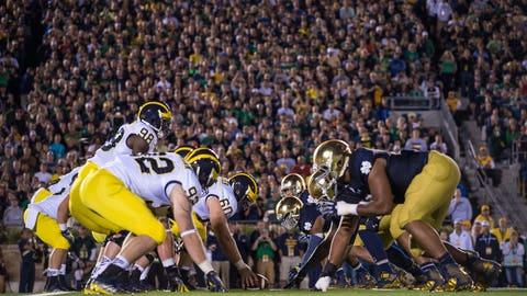 Michigan at Notre Dame (Sept. 1)