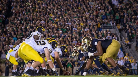 Michigan at Notre Dame (Sept. 1)