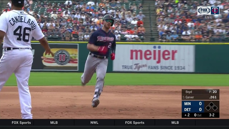 WATCH: A #GarvSauce triple fooled this Tigers outfielder