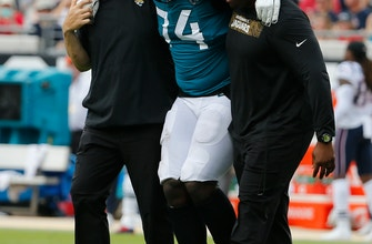 Jaguars LT Cam Robinson out for season with left knee injury