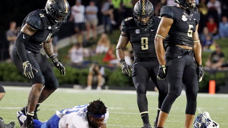 Nevada has Vanderbilt's attention after scoring 72 points