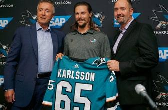 Sharks add Erik  Karlsson for big boost to blue line