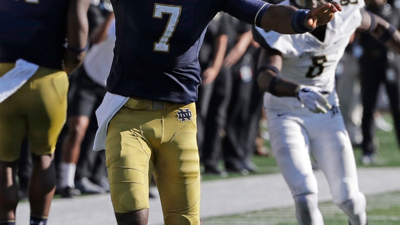 No. 8 Irish look to get offense 'attacking' against Wake
