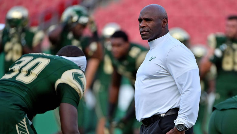 USF fires coach Charlie Strong after 3-season slide
