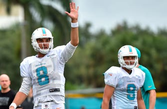Dolphins QBs Brock Osweiler, David Fales still in competition for backup job