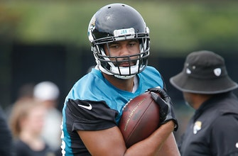 Jaguars TE Austin Seferian-Jenkins misses practice with core muscle injury, still possible to play Sunday