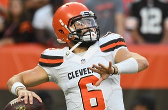Drew Brees says Baker Mayfield can be 'a lot better than me,' Cris Carter responds | First Things First