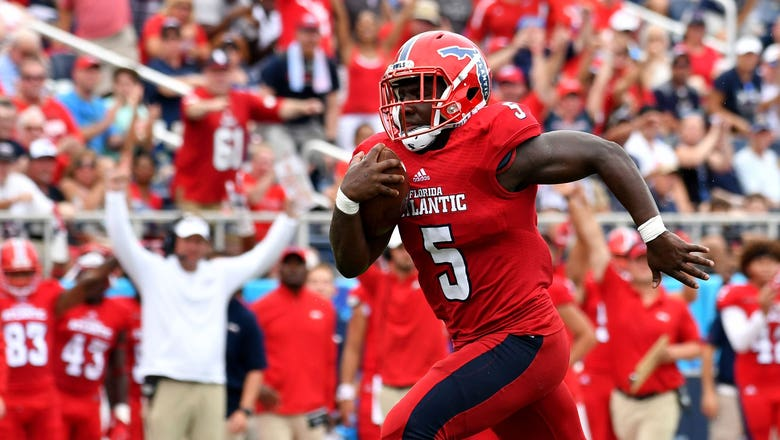 Devin Singletary's 2 TDs not enough for FAU in road loss to North Texas