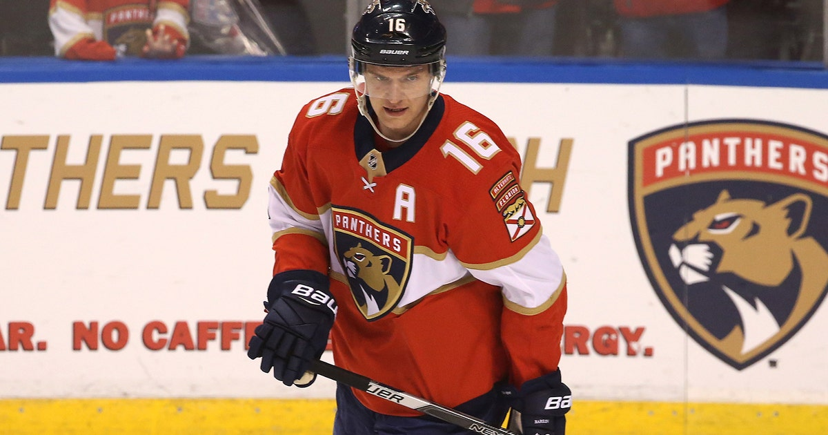 ad46bad9bf3 Taking the helm  Aleksander Barkov named 10th captain in Florida Panthers  history