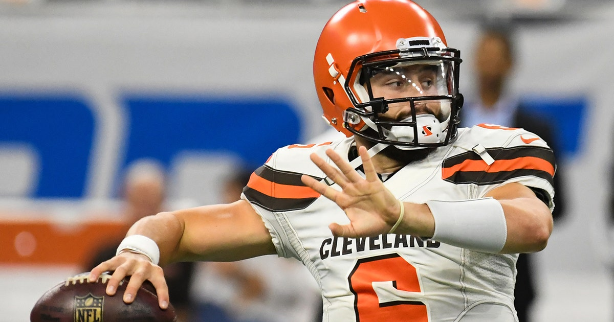 7f1f45f07 Colin Cowherd has a message for Browns fans asking for Baker Mayfield to  start