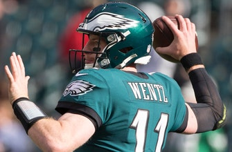 Eagles defeat Giants with the help of Carson Wentz's 3 TD passes