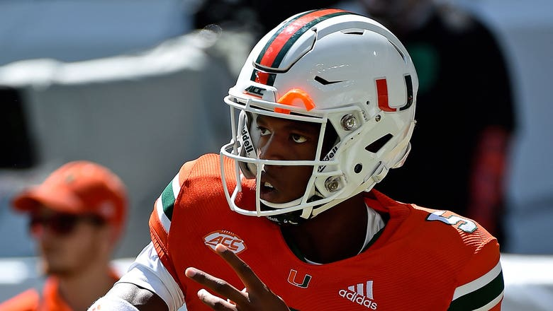 Hurricanes' N'Kosi Perry being considered for starting QB