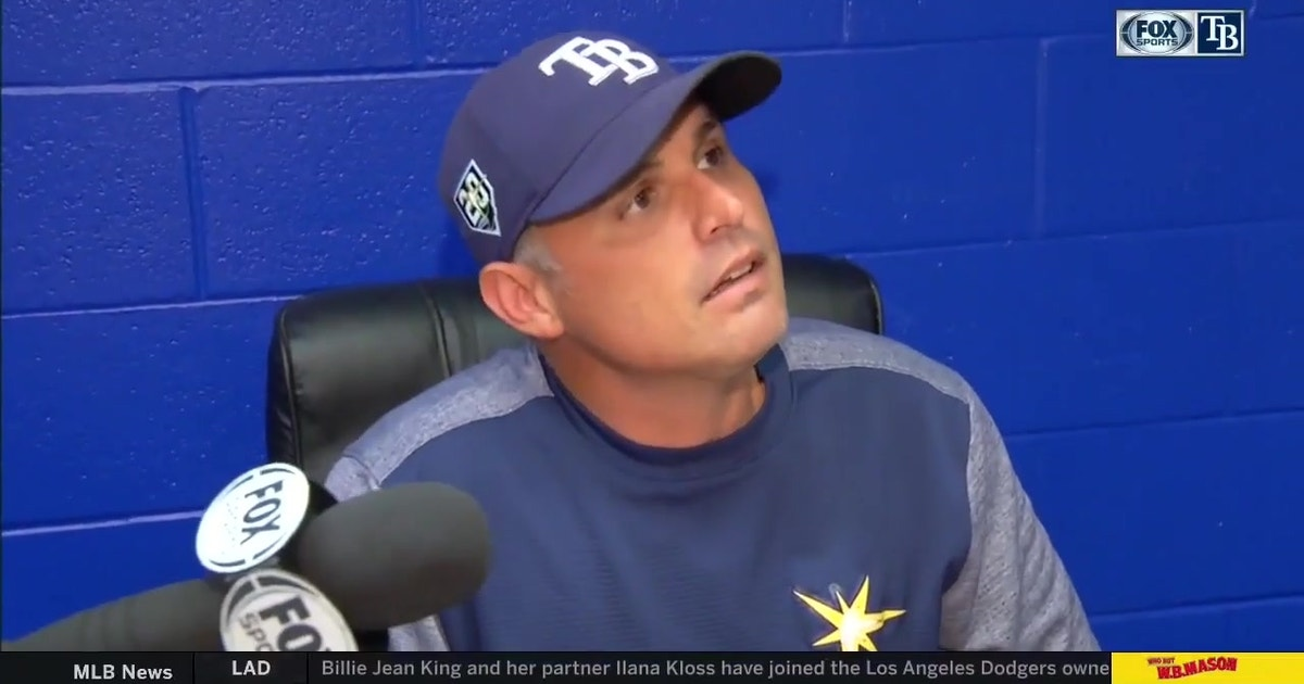Kevin Cash on big bats of Austin Meadows, Tommy Pham, & Ji-Man Choi after win over Blue Jays
