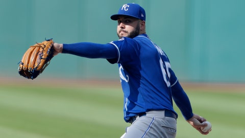 <p>               Kansas City Royals starting pitcher Jakob Junis delivers in the first inning of a baseball game against the Cleveland Indians, Monday, Sept. 3, 2018, in Cleveland. (AP Photo/Tony Dejak)             </p>