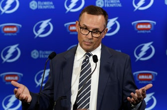 AP Source: Steve Yzerman stepping down as Lightning GM