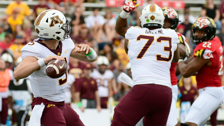 PHOTOS: Gophers at Terrapins