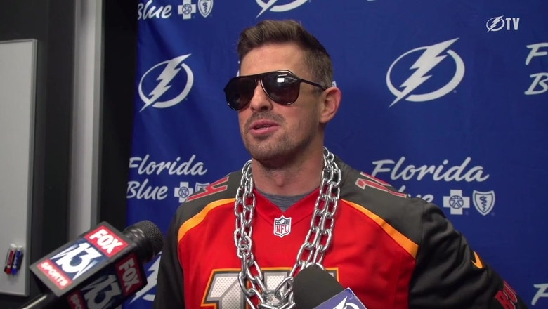 Lightning forward Alex Killorn is here for the FitzMagic movement