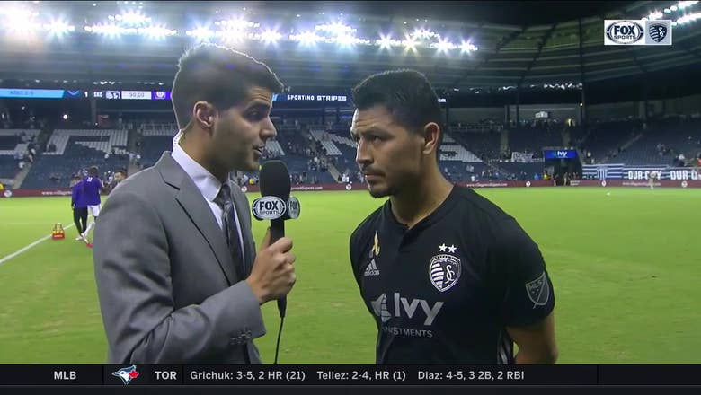 Espinoza on the Sporting KC win: 'We knew it wasn't going to be easy'