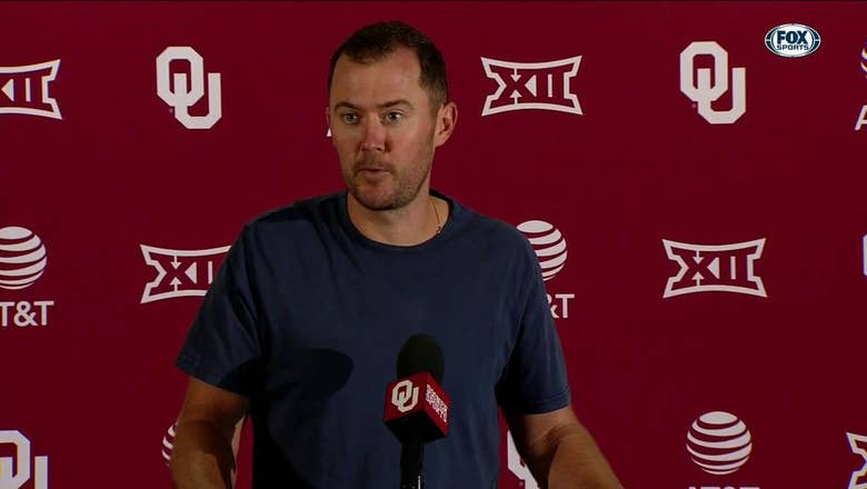 Lincoln Riley talks 37-27 win against Iowa State | OU Sooner Football Press Conference
