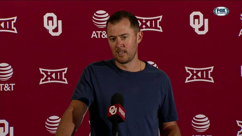 Lincoln Riley: 'That was a BIG win' | OU Sooner Football Press Conference