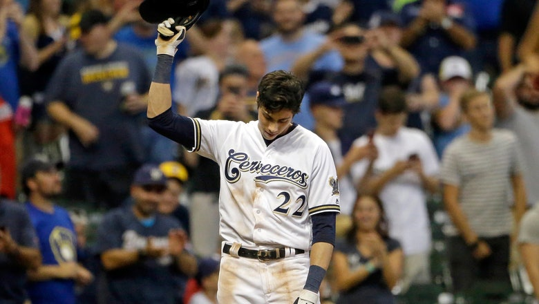 Yelich propels Brewers with 2nd cycle in 3 weeks vs Reds