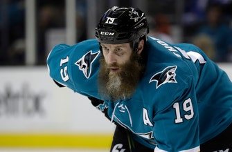 Sharks open training camp with healthy Joe Thornton