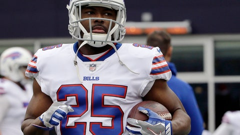 <p>               FILE - In this Sunday, Dec. 24, 2017 file photo, Buffalo Bills running back LeSean McCoy warms up before an NFL football game against the New England Patriots in Foxborough, Mass. The more skepticism LeSean McCoy hears over whether he can maintain his production at the age of 30, the better the Buffalo Bills running back feels. McCoy is using the questions as motivation in preparing to open his 10th NFL season on Sunday, Sept. 9, 2018 when the Bills play at Baltimore. (AP Photo/Steven Senne, File)             </p>