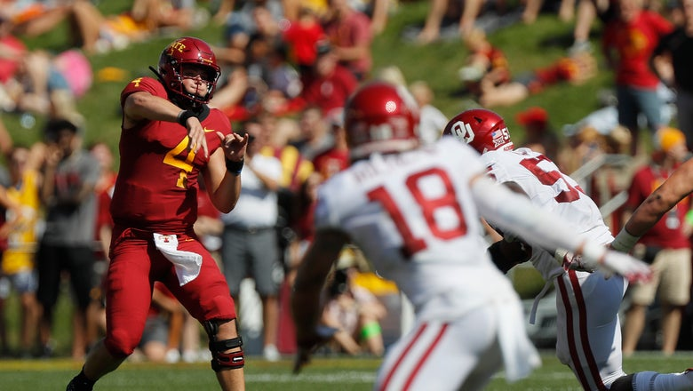 Noland steps up at QB for Iowa State
