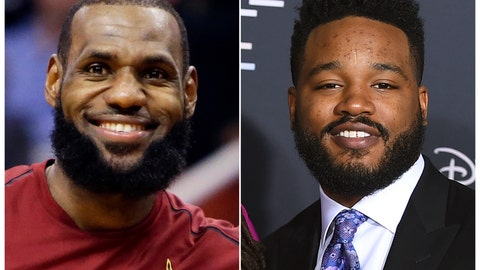 "<p>               This combination photo shows Cleveland Cavaliers forward LeBron James during an NBA basketball game against the Phoenix Suns in Phoenix on March 13, 2018, left, and filmmaker Ryan Coogler at the world premiere of ""A Wrinkle in Time"" in Los Angeles on Feb. 26, 2018. James' production company SpringHill Entertainment tweeted Wednesday that Coogler will produce ""Space Jam 2,"" the sequel to the 1996 movie that featured Michael Jordan alongside Warner Bros.' animated characters. ""Random Acts of Flyness"" creator Terence Nance will direct James in the film. (AP Photo)             </p>"