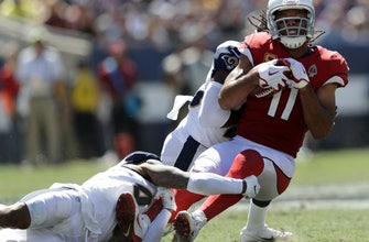 Cardinals WR Larry Fitzgerald sidelined by hamstring injury