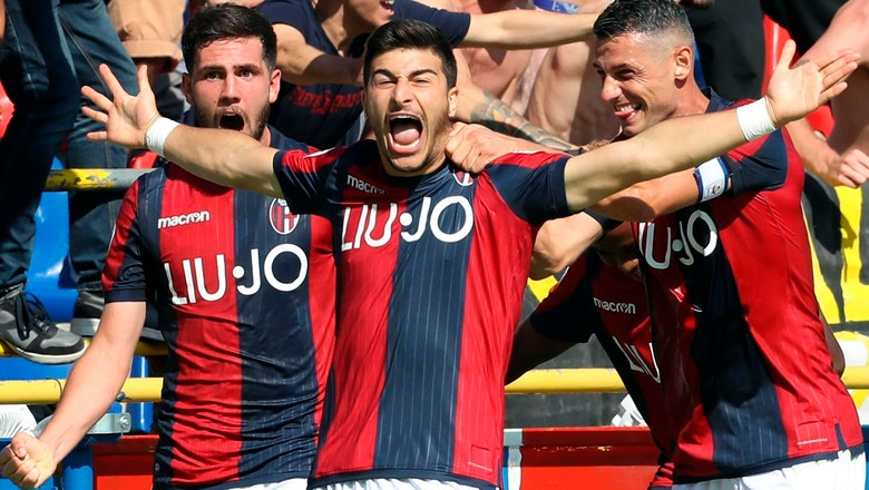 Bologna's Orsolini shows off his highly touted potential