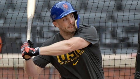 <p>               This Sept. 8, 2018 photo shows New York Mets' David Wright batting during a simulated baseball game in New York. Wright took live batting practice Tuesday, Sept. 11, 2018 at Citi Field as the Mets captain tries to complete his comeback from a string of debilitating injuries. (AP Photo/Bill Kostroun)             </p>