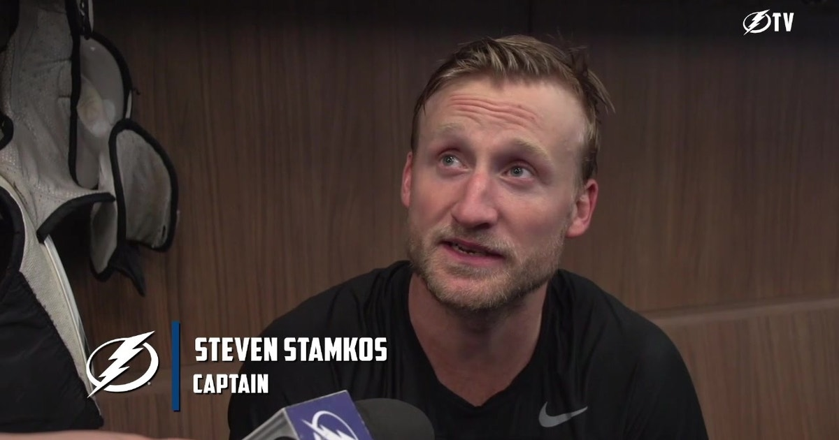 Steven Stamkos says camp is where bringing Cup back to Tampa Bay begins