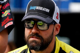 Paul Menard responds to the people who say he never smiles