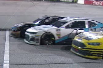Here's how Brad Keselowski was able to steal a win from a dominant Kyle Larson in Darlington