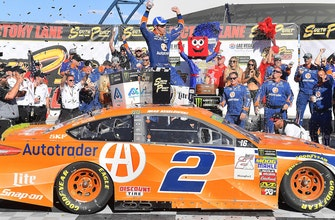 Brad Keselowski on what it meant to score Team Penske's 500th victory