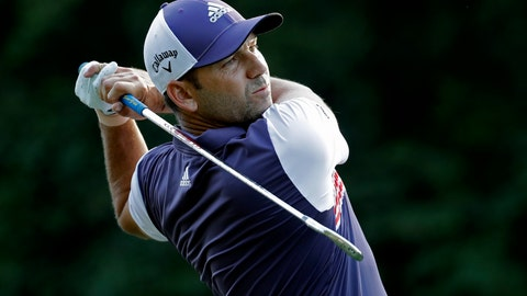 <p>               FILE - In this Thursday, Aug. 16, 2018 file photo, Sergio Garcia of Spain watches his tee shot on the 12th hole during the first round of the Wyndham Championship golf tournament in Greensboro, N.C. Sergio Garcia, Ian Poulter, Henrik Stenson and Paul Casey are the European team's wild-card selections for the Ryder Cup. European captain Thomas Bjorn made the announcement on Wednesday, Sept. 5 picking experienced players to balance a team containing five rookies among the automatic qualifiers. (AP Photo/Chuck Burton, file)             </p>